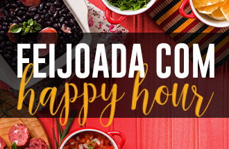 Feijoada com Happy Hour